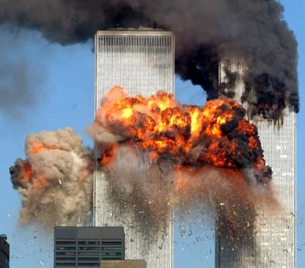 WTC 11 september 2001 ca klockan 15:03 svensk tid